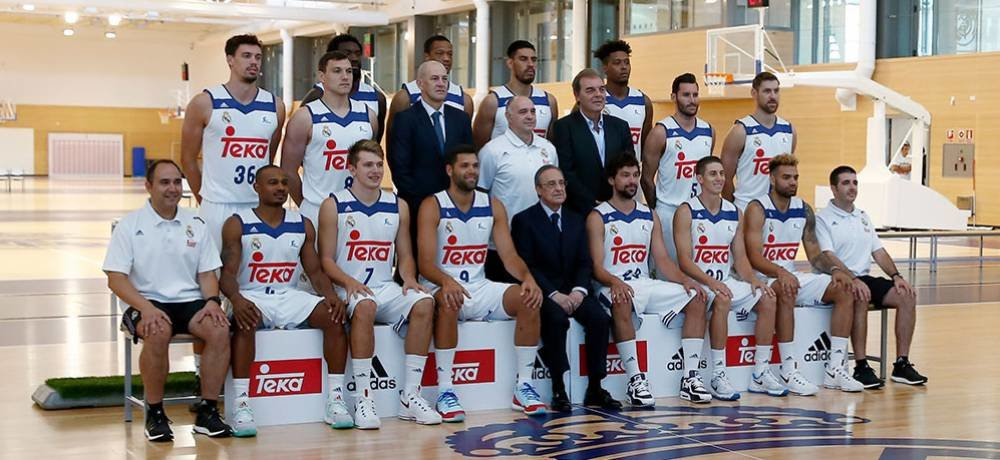 Plantilla Real Madrid baloncesto 2016-17 / Foto: AS