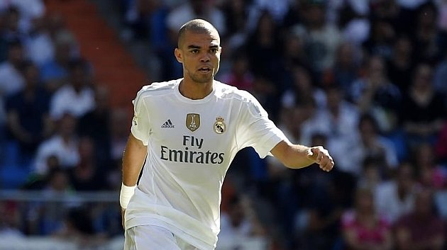 Pepe con el Real Madrid / Foto: Agencias